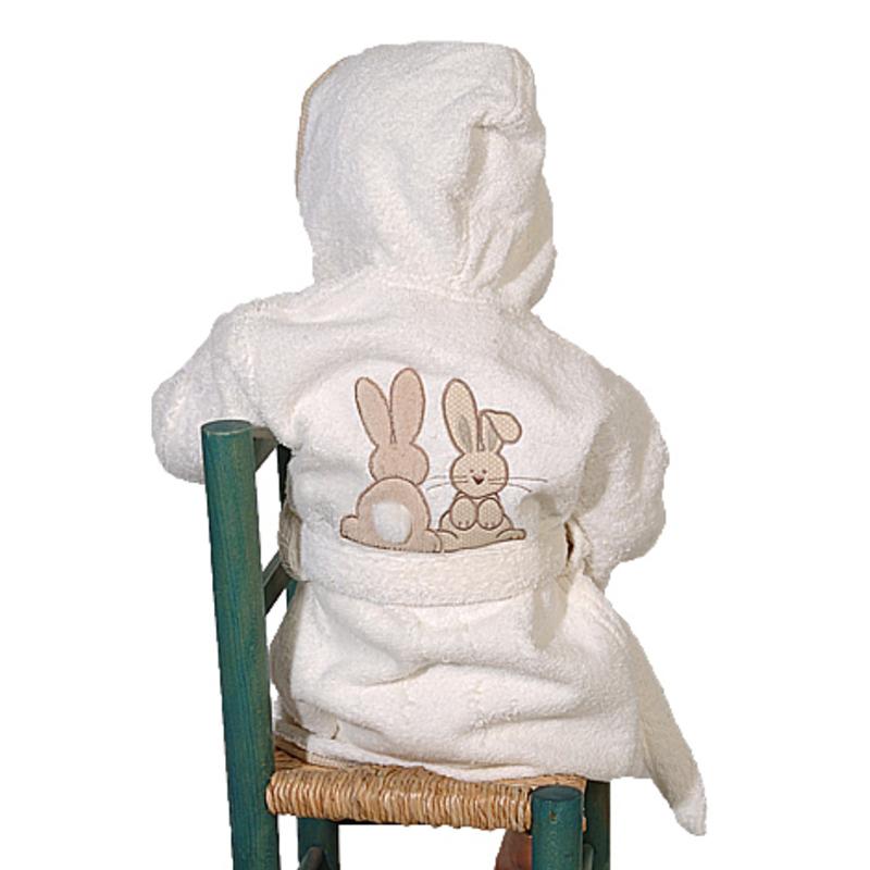 peignoir-bebe-pompon-lapin-brode